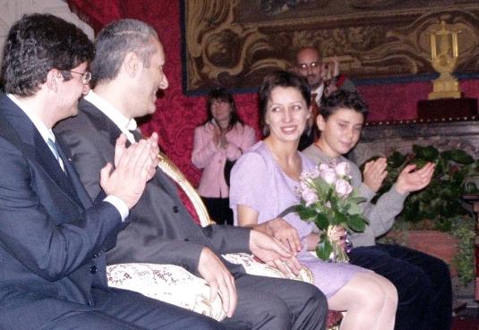 6 novembre 2004, accanto a me Manu