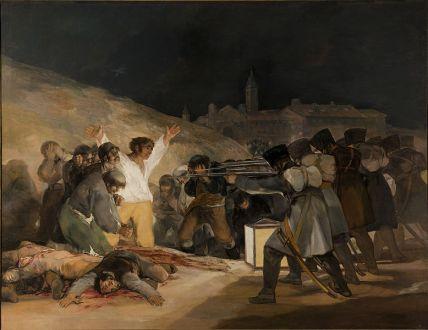 fucilazione Francisco de Goya, Prado