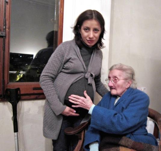 15.12.2012 con nonna Gabriella e Viola nel pancione