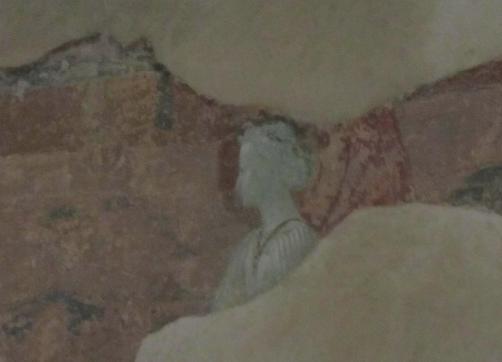26.12 affresco profilo angelo San Miniato