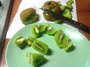 6.12 merenda con i kiwi di Andrea