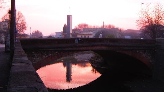 4.1.2013 tramonto sul Mugnone