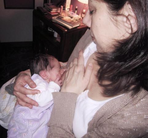 11 febbraio Viola al seno a casa