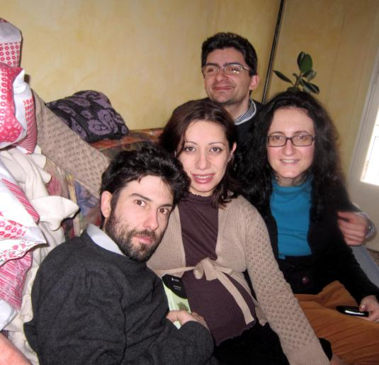 3 con puccio Vento e Chiara