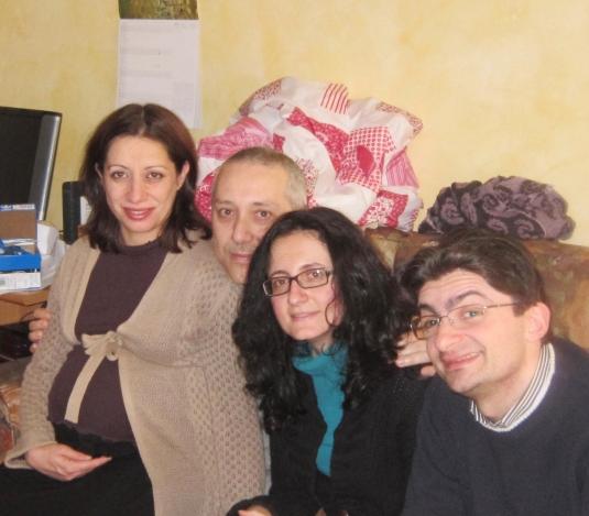 3 febbraio Cate Sandro Chiara e Vento