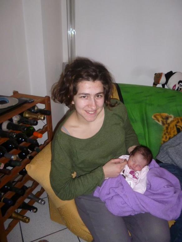 Elisa con Viola