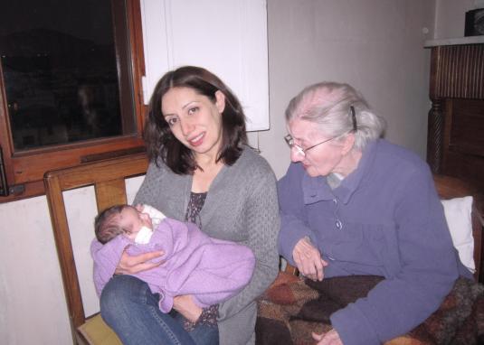 2.3.2013 con Gabriella e Viola ancora e Fiesole