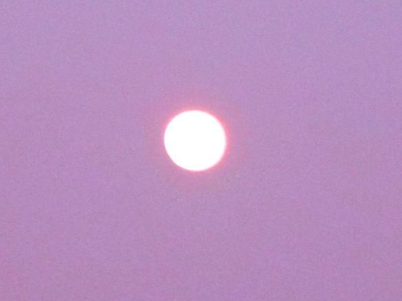 24.4.2013 Luna verso il tramonto