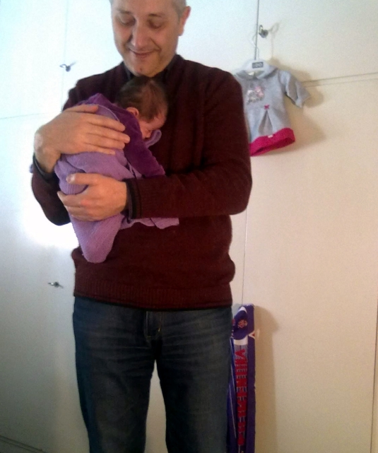 3.4.2013 a Koala in braccio a babbo
