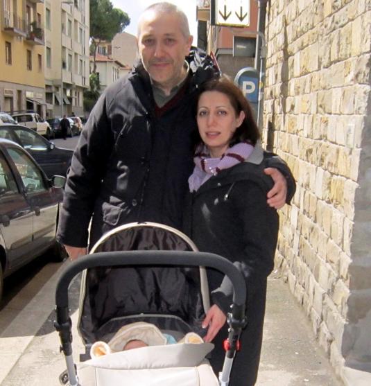 6.4.2013 Sandro, Cate, Viola