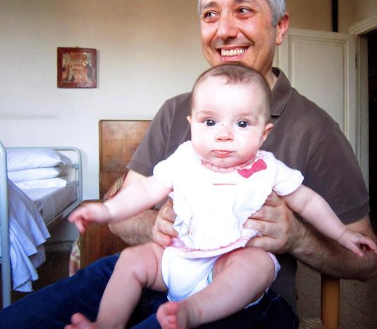 14.7.2013 con Sandro da nonna Gabriella