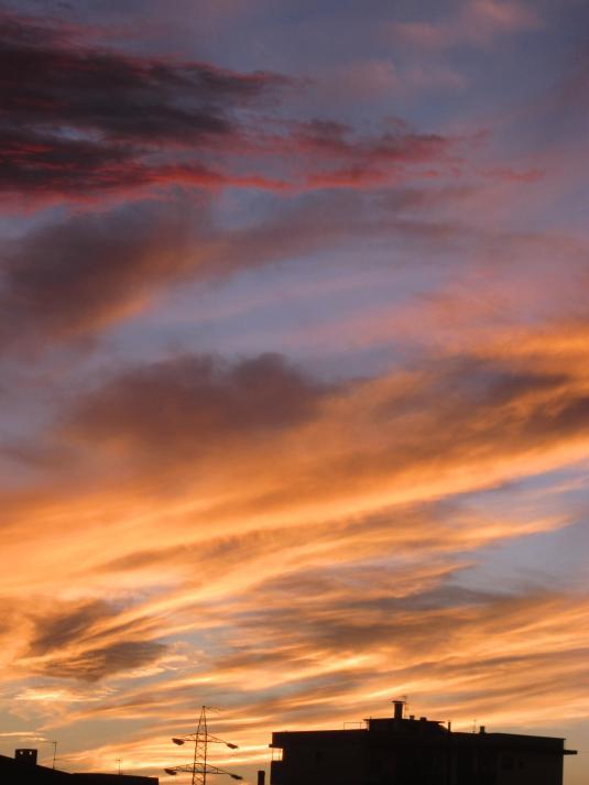 3 nuvole al tramonto5