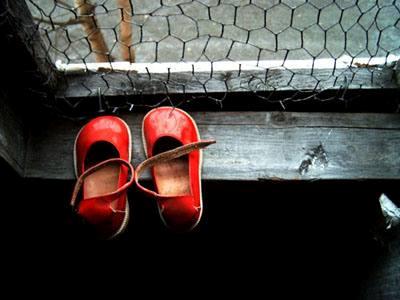 scarpette rosse