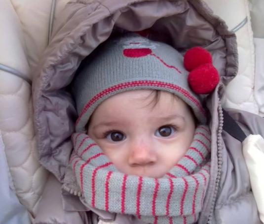 23 gennaio 2014 al giardino di via Maragliano