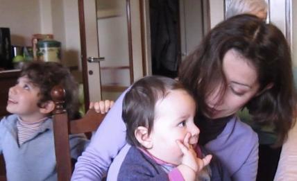 8 febbraio 2014 Bernardo Cate e Viola