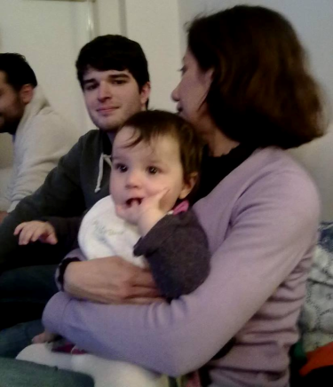 8 febbraio 2014 con Viola alla partita