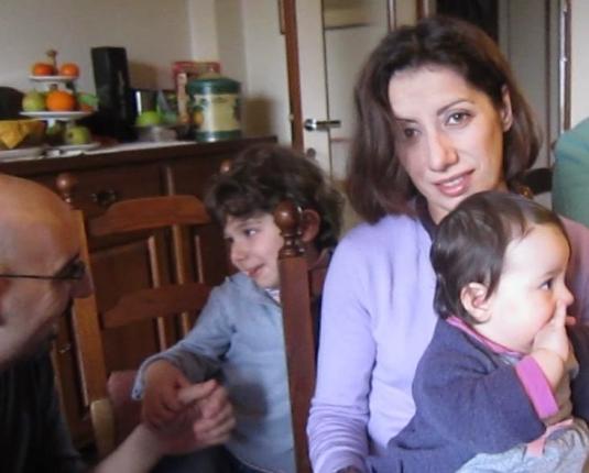 8 febbraio 2014 PaoloBernieCate e Viola