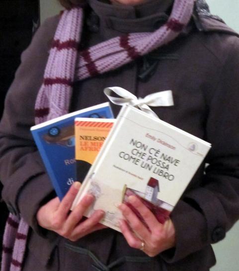 1 fiocco e libri