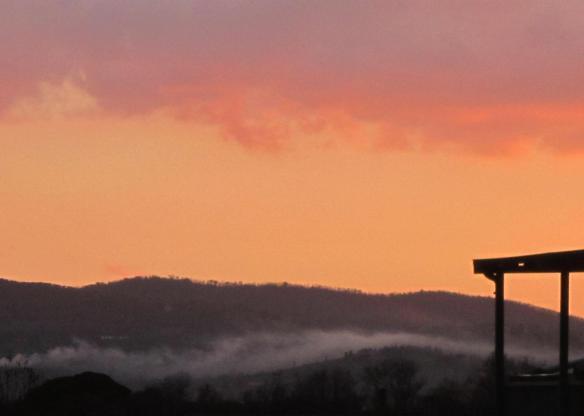 Firenze nuvole basse