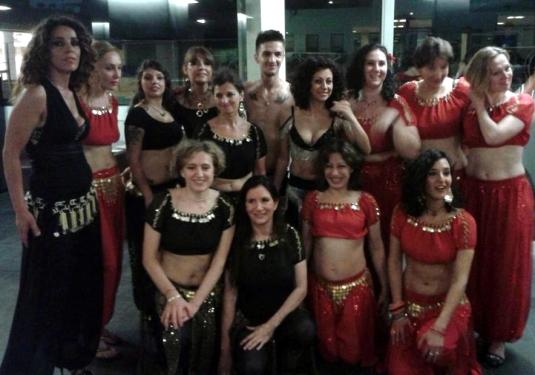 12 giugno 2014 foto di gruppo dopo il saggio danza