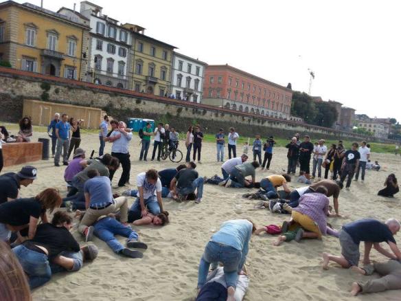 Riki flash mob di maggio