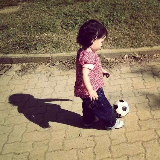 30 settembre 2014 con la palla