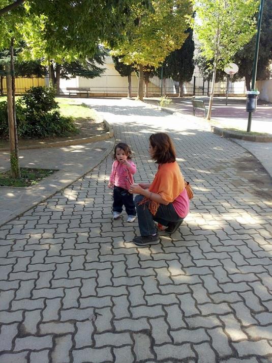 3 ottobre 2014 al giardino Cate e Viola