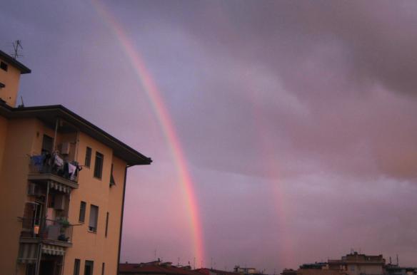 13 arcobaleno doppio