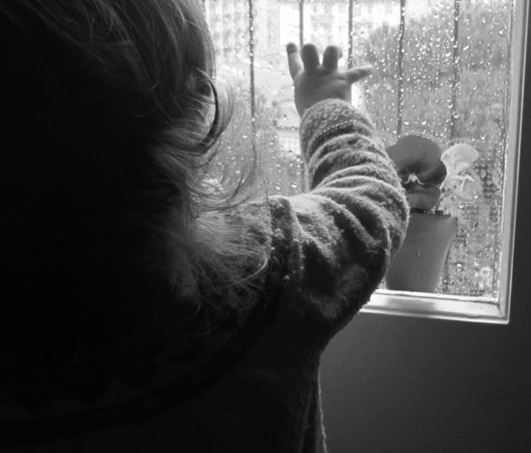 5 bn Viola guarda la pioggia