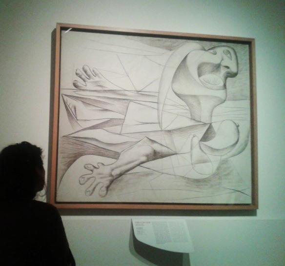 8 davanti a Picasso studio Guernica