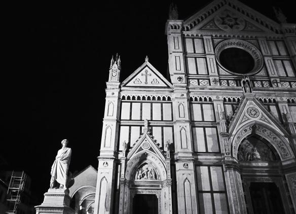 bw Dante Santa Croce scala