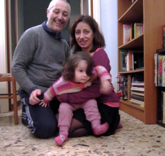 20 dicembre 2014 Sandro Cate e Viola