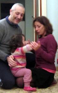 20 dicembre 2014 Sandro Cate e Viola2
