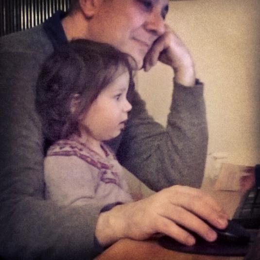 30.11.2014 babbo e Viola