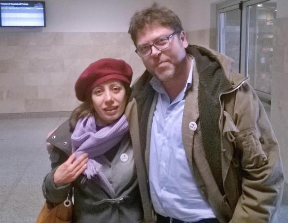 8 gennaio Cate e Andrea Magherini