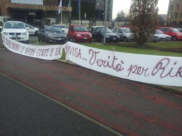 3 febbraio davanti al palagiustizia foto di Nic