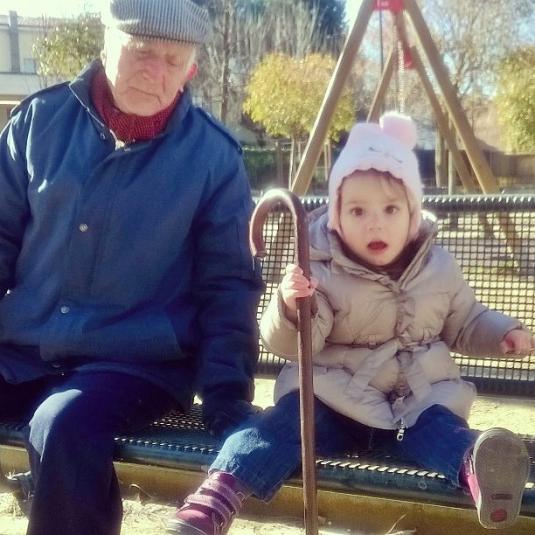 9 febbraio 2015 Viola con Guido
