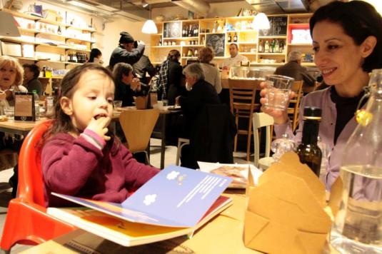 15 marzo 2015 con Viola chez RED3