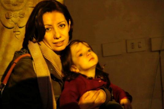 15 marzo 2015 con Viola dentro Van Gogh