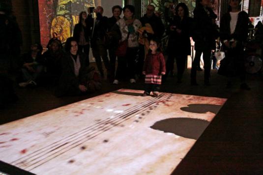 15 marzo 2015 con Viola dentro Van Gogh3