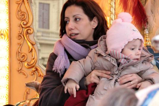 15 marzo 2015 con Viola giostra