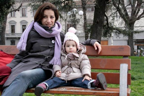 15 marzo 2015 con Viola in piazza Indipendenza