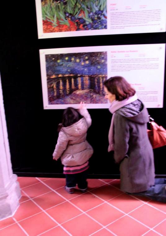 15 marzo 2015 con Viola per Van Gogh