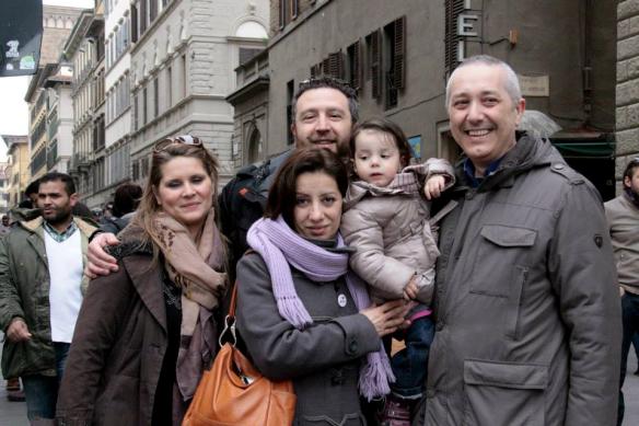 15 marzo 2015 Nutini e Giardiello in via Calzaioli