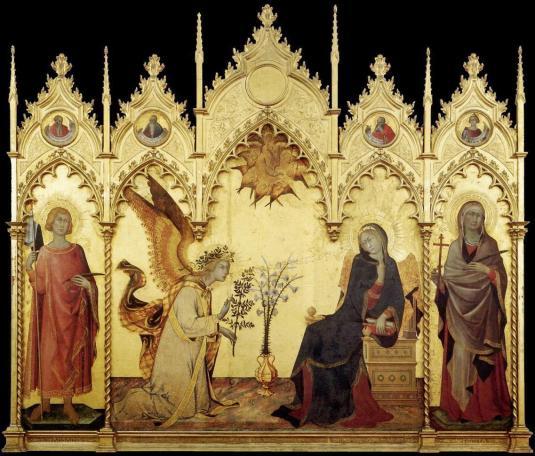 25 marzo Annunciazione Simone Martini