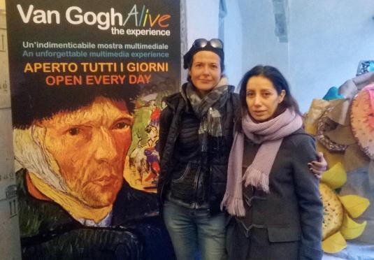 7 marzo con Dani a Van Gogh alive