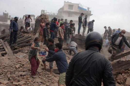 Nepal dopo il terremoto