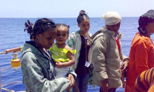sbarcate a Lampedusa