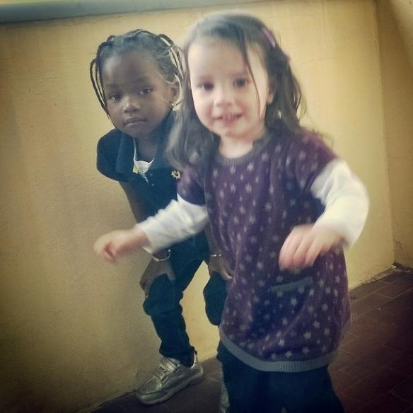 1 maggio 2015 Khadi e Viola2