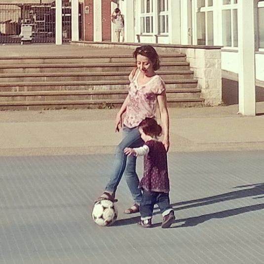 10 maggio 2015 in piazzetta con Viola
